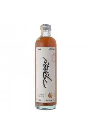 משוקר-קוקטייל על בסיס סיידר מתפוחי פינק ליידי מתובל בקמומיל, תה שחור ולבנדר